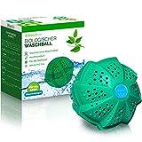 WASCHKLAR® Waschball [4-FACH REINIGUNG] - Saubere Wäsche OHNE Waschmittel - Waschkugel für Waschmaschine   Wäscheball zero waste Produkte