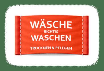 Wäsche richtig waschen Logo