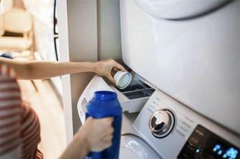 Die Wahl des richtigen Waschmittels und die korrekte Dosierung sind wichtig